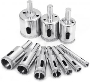 Diamond Drill Bits, Baban 10Pcs