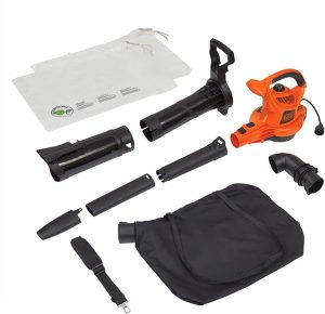 BLACK+DECKER 3-in-1 Electric Leaf Blower & Mulcher