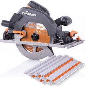 Evolution Power Tools R185CCSX 7-Circular Track Saw Kit